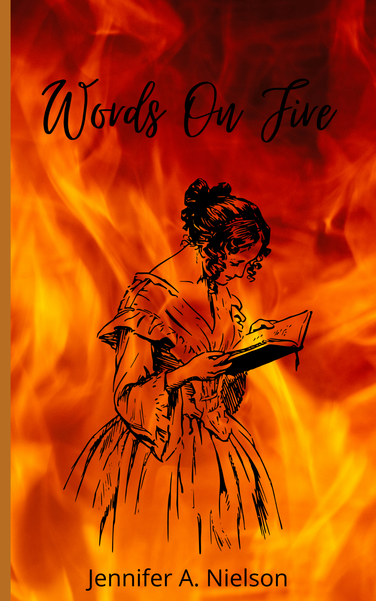 My Words on Fire Book Cover📘🔥